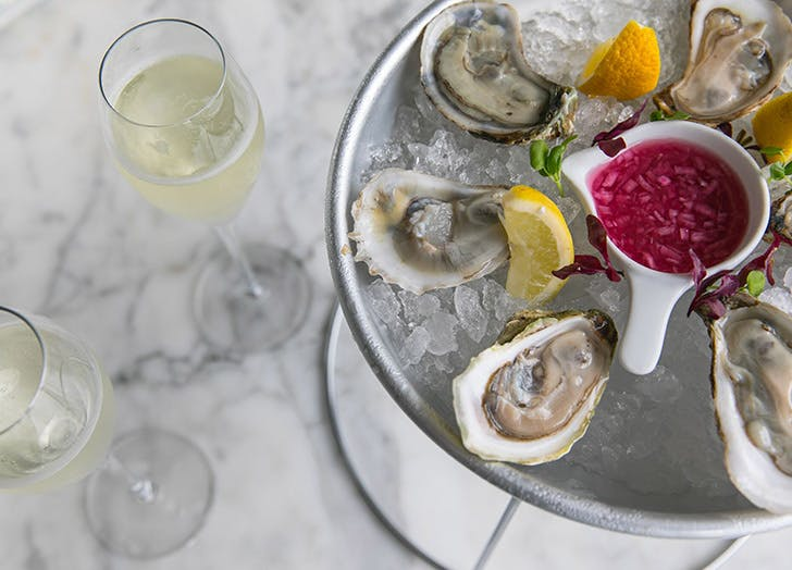 peace at la centrale oysters