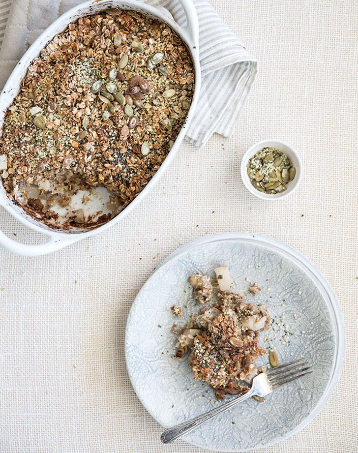 pear and sage baked oatmeal recipe