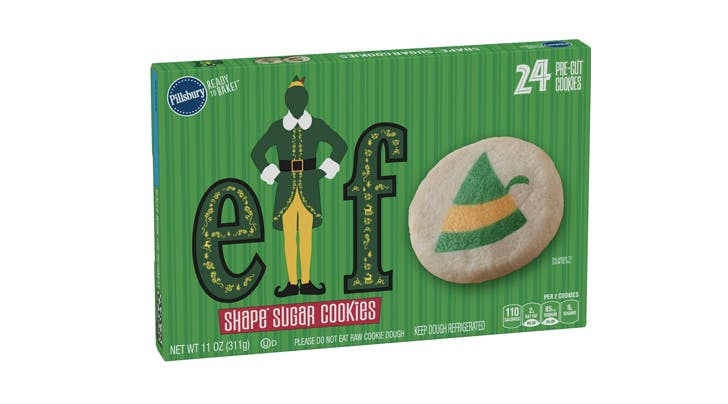 Its Only Halloween, but Pillsbury Is Selling 'Elf' Sugar Cookies (and Yeah, We'd Eat Them)