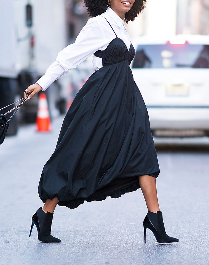 How to Wear Ankle Boots with Dresses , PureWow