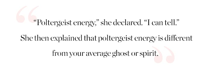 poltergeist Pull Quote