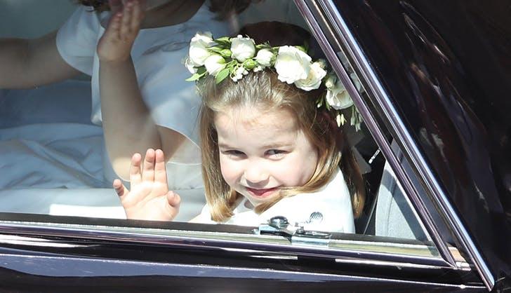 princess charlotte prince harry wedding