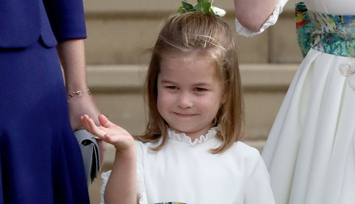 princess charlotte princess eugenie wedding