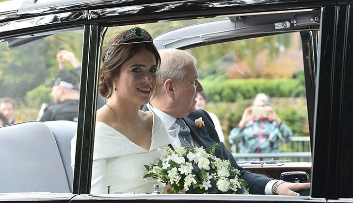 princess eugenie wedding car