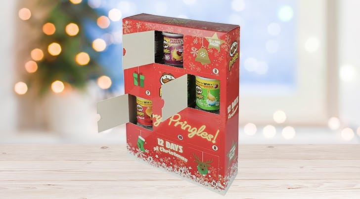 A Pringles Advent Calendar Is Available in the U.K., and Be Still Our Chip-Loving Hearts