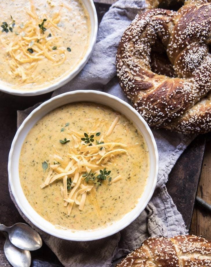 pumpkin recipes Broccoli cheddar soup