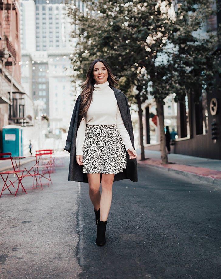 ralph lauren skirt and sweater