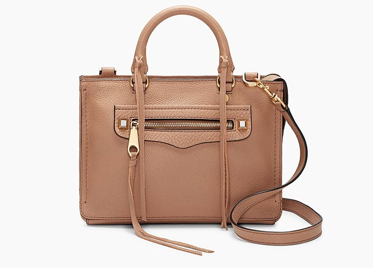rebecca minkoff tan micro regan satchel