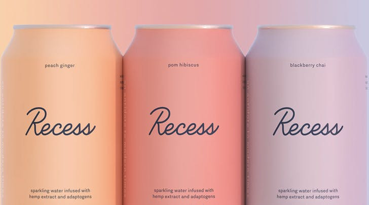 This CBD- and Adaptogen-Infused Seltzer Is Like LaCroix for Stressed Out People