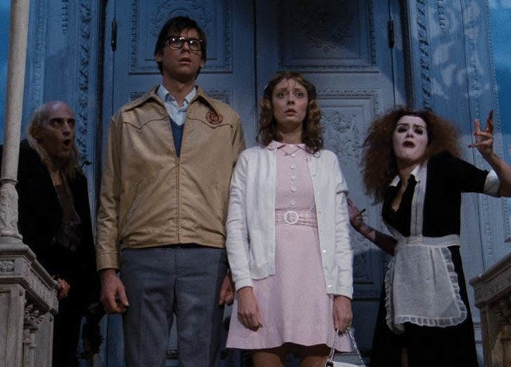 rocky horror picture show halloween movie