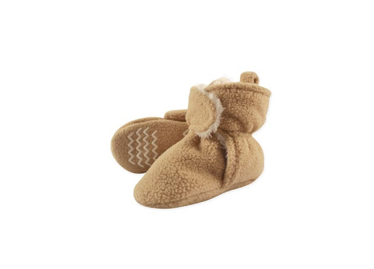 sherpa lined baby booties