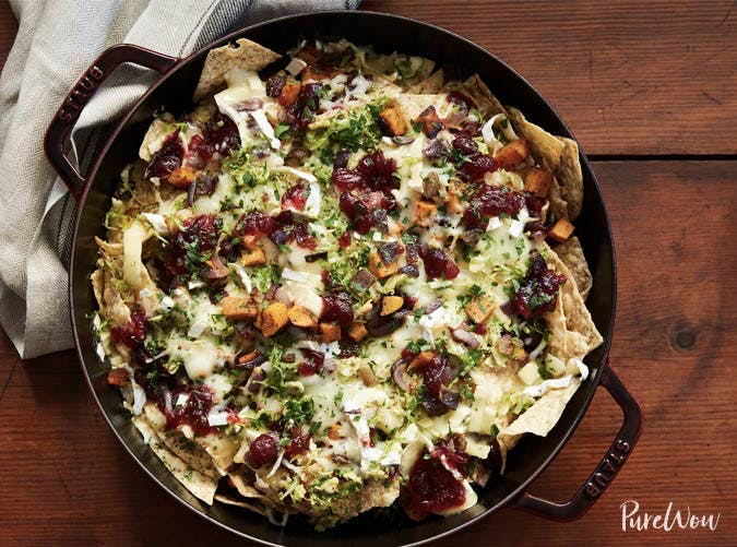 skillet nachos thanksgiving appetizers