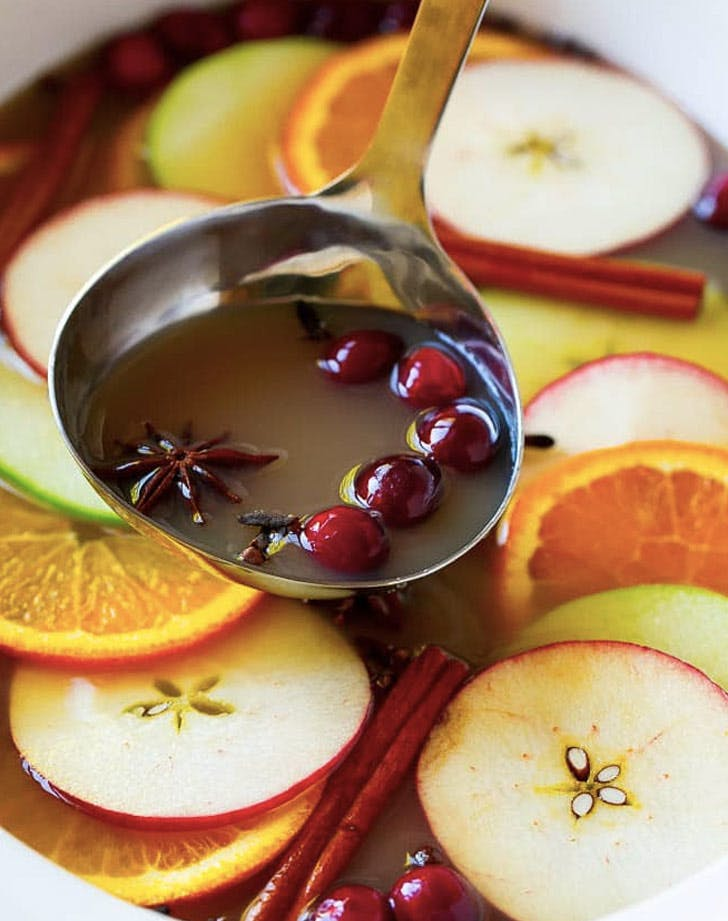 slow cooker thanksgiving recipes apple cider