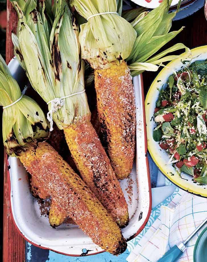 smokey barbecue corn