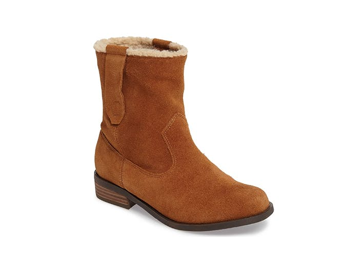 sole society shearling boots