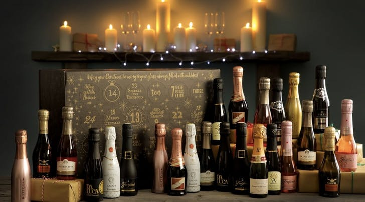 Pop the Bubbly! This Sparkling Wine Advent Calendar Contains 24 Bottles of Rosé, Prosecco and Champagne