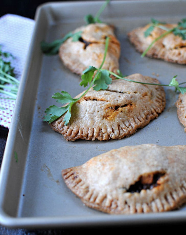 spicy soyrizo and black bean empanadas recipe