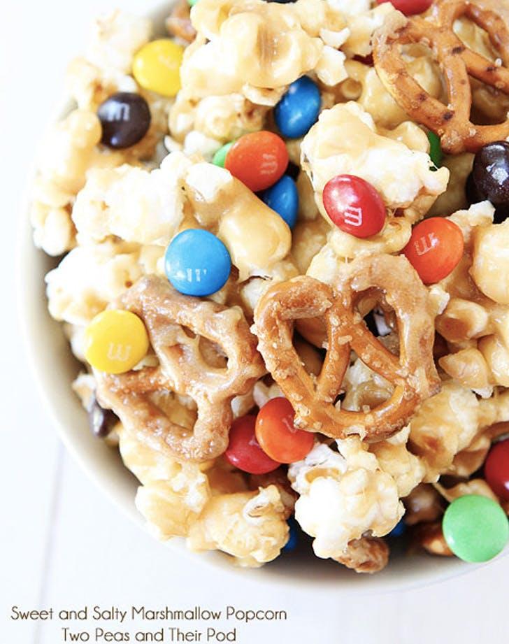 sweet and salty marshmallow popcorn recipe
