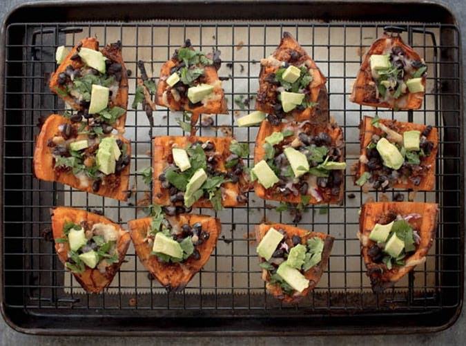 sweet potato skins thanksgiving appetizer