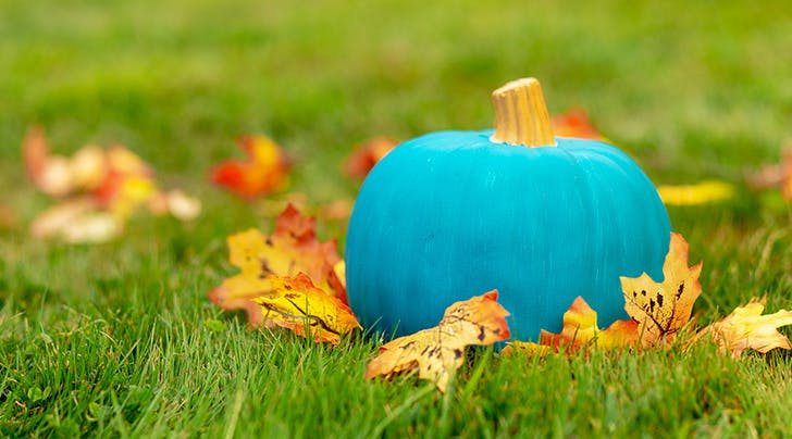 Here's Why Teal Pumpkins Are Popping Up in Your Neighborhood This Halloween