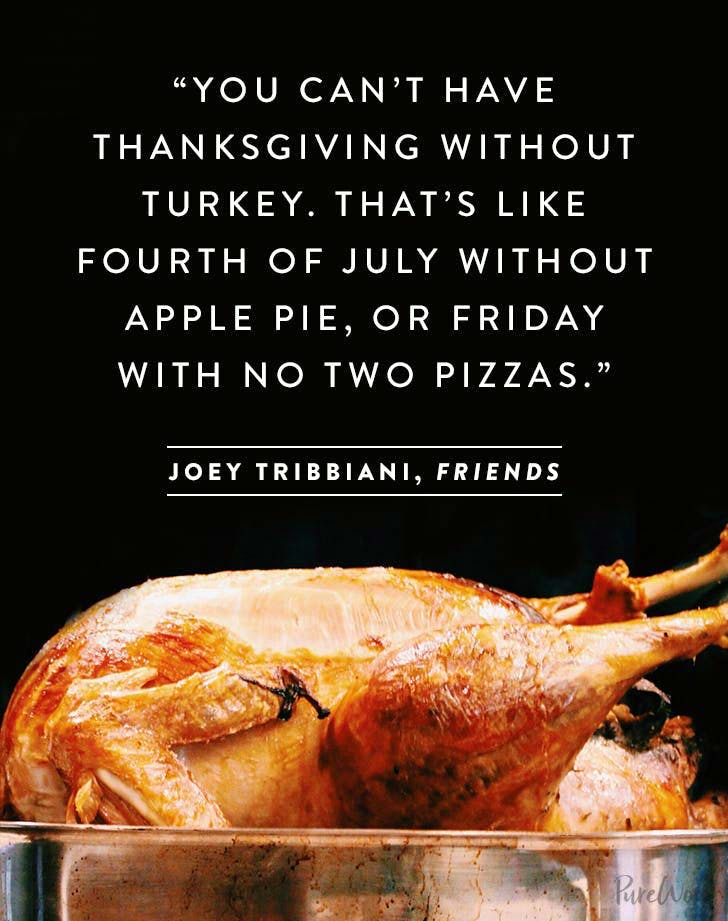 thanksgiving quote joey tribiani1
