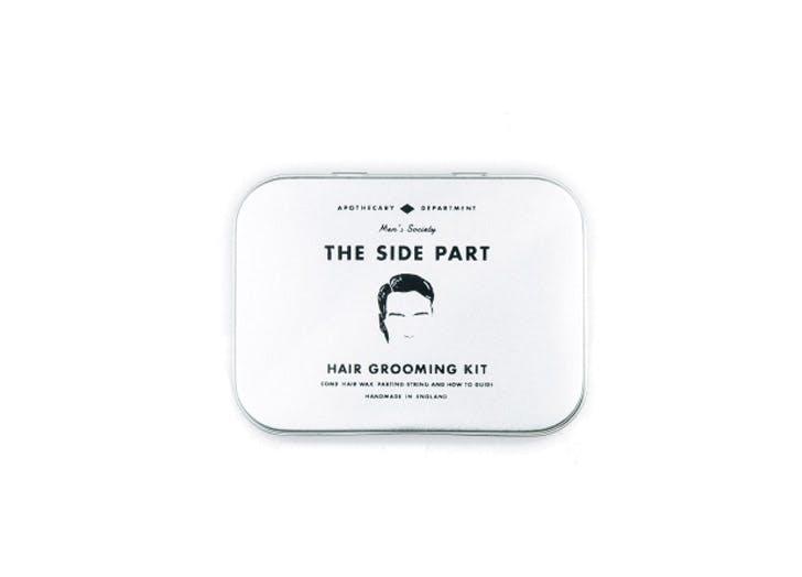 the side part mens hair kit