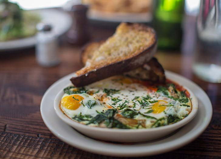 the smith nyc baked eggs
