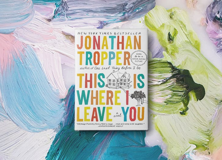 this is where i leave you jonathan tropper