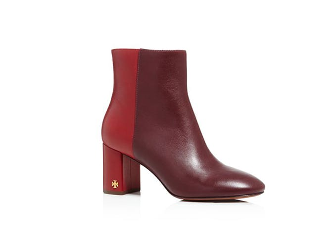 tory burch block heel boots