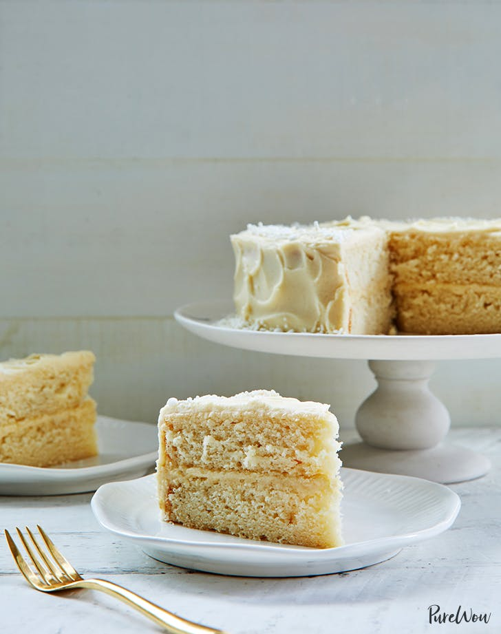 The Ultimate White Cake