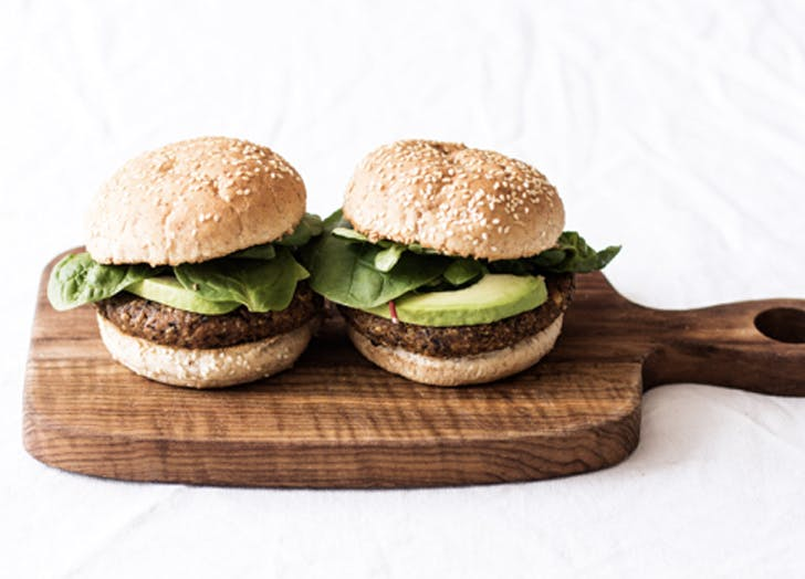 vegan black bean and corn burgers recipe