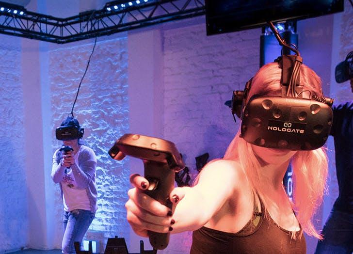 virtual reality circus
