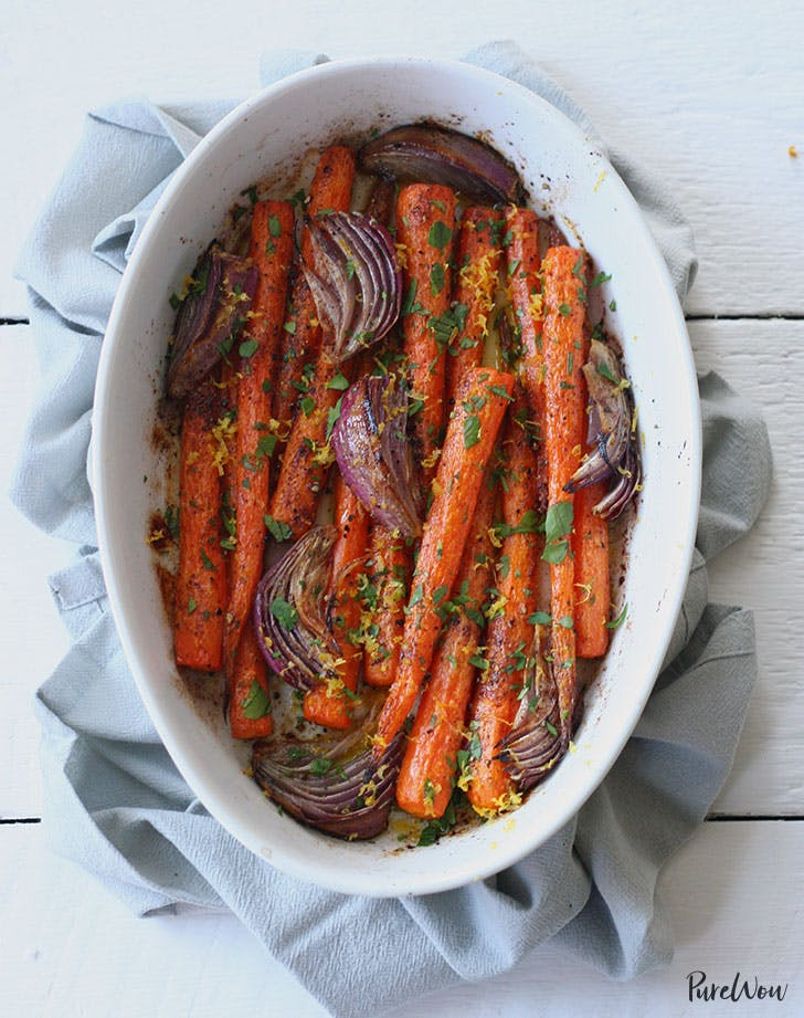 whole roasted carrots recipe