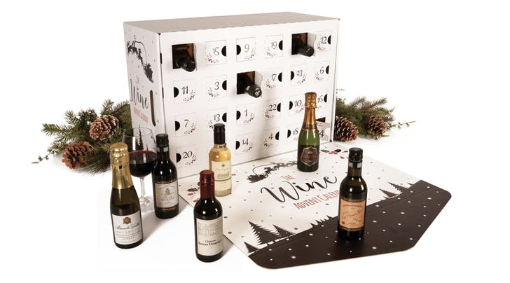 Raise a Glass: This New Wine Lovers' Advent Calendar Has a Mini Bottle for Every. Single. Day.