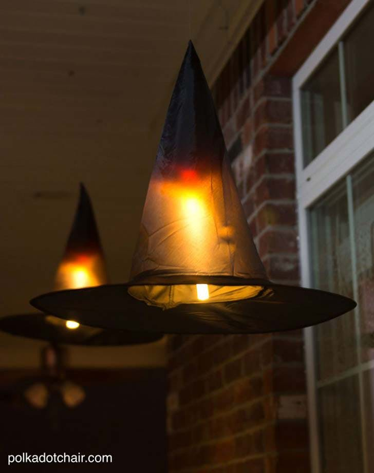 witch hat luminaries