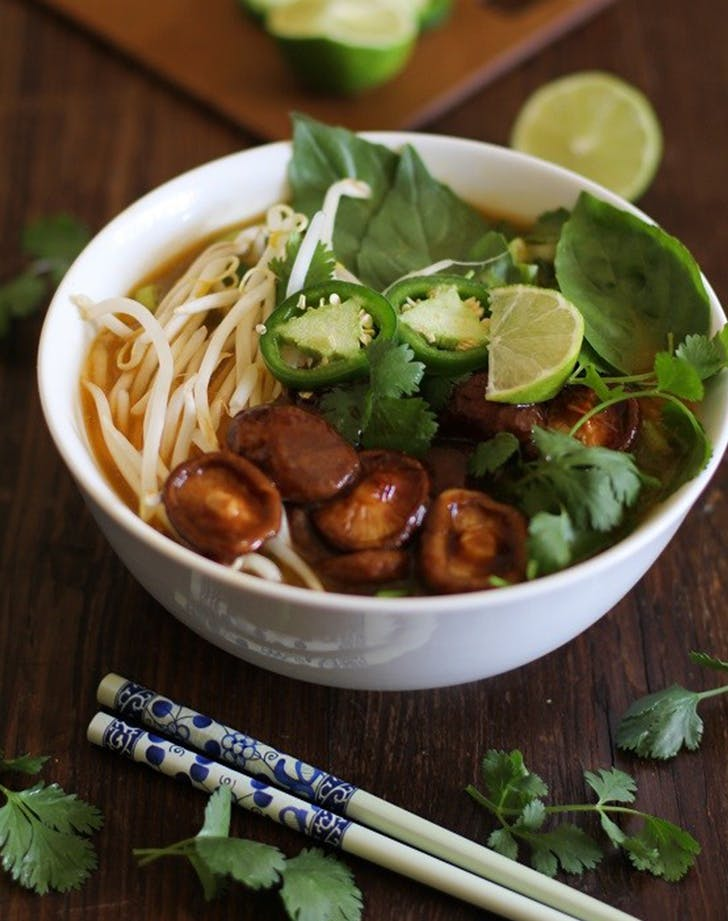 30 Minute Vegetarian Pho recipe