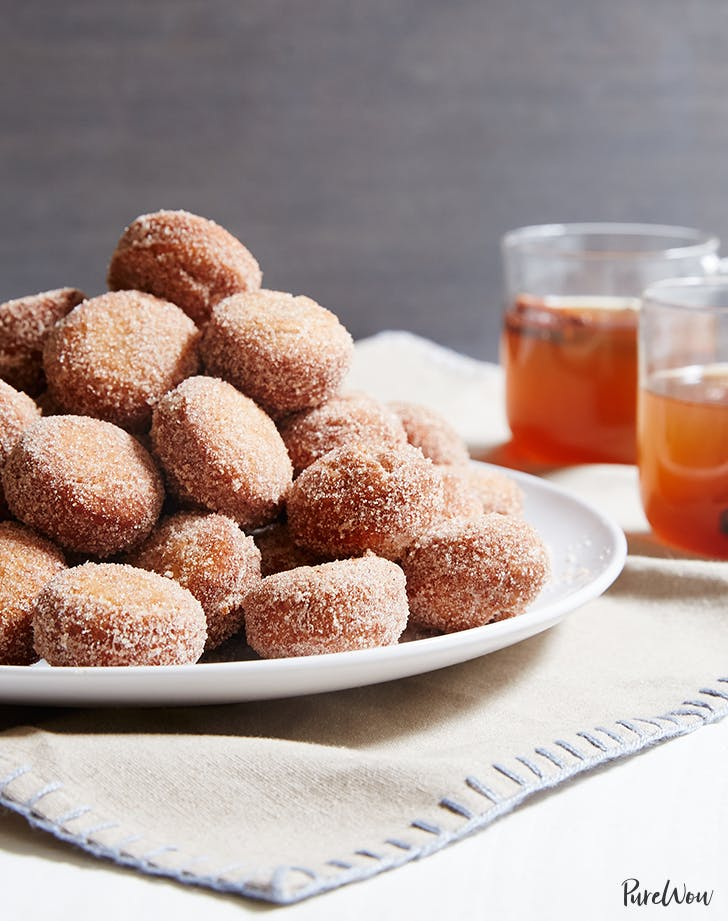 Apple Cider Doughnut Holes recipe