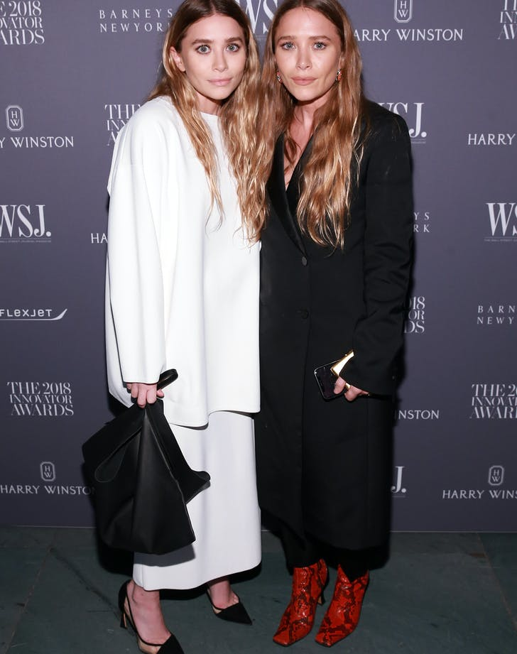 Ashley Mary Kate Olsen Wall Street Journal Innovator Awards