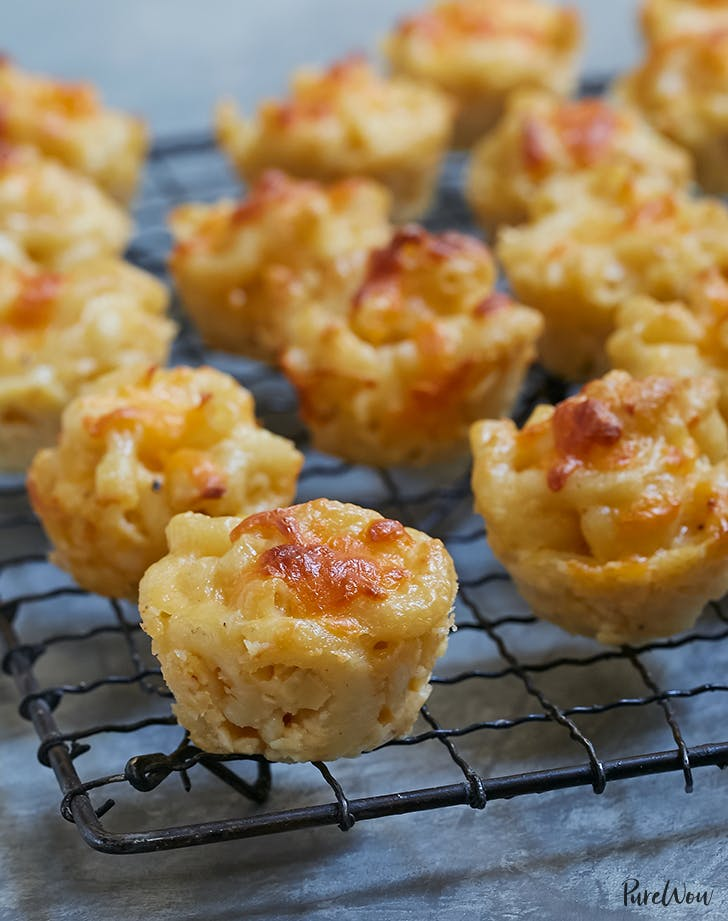 Baked Macaroni and Cheese Bites recipe