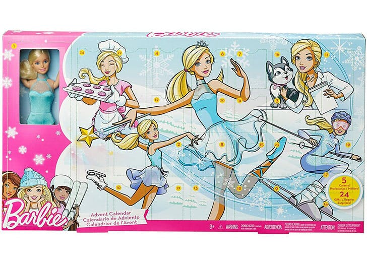 Barbie Careers Advent Calendar for kids