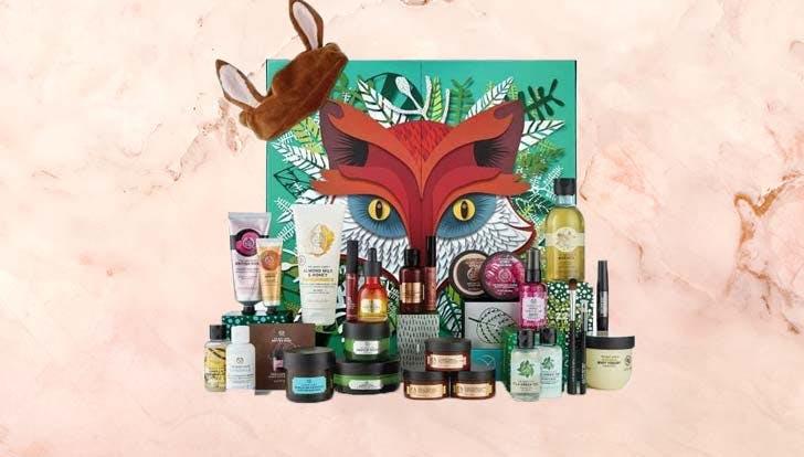 Body Shop beauty advent calendar