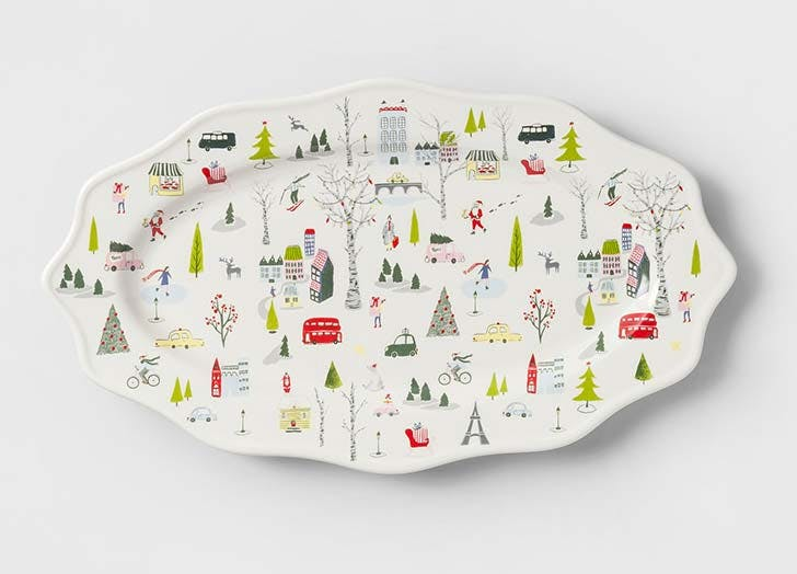Christmas in the City Serving Platter from Target
