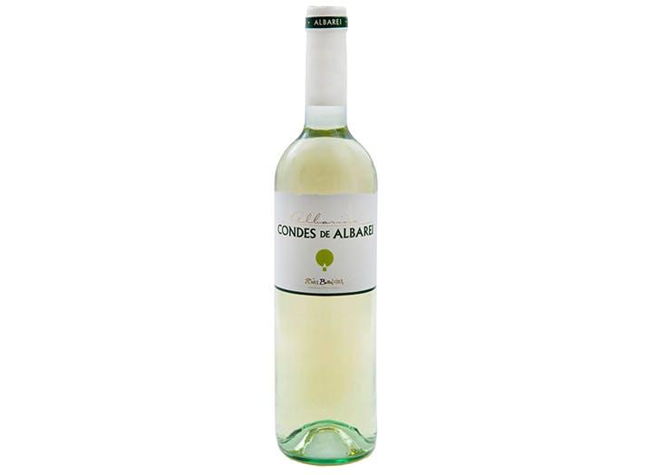 Condes de Albarei Albarino white wine