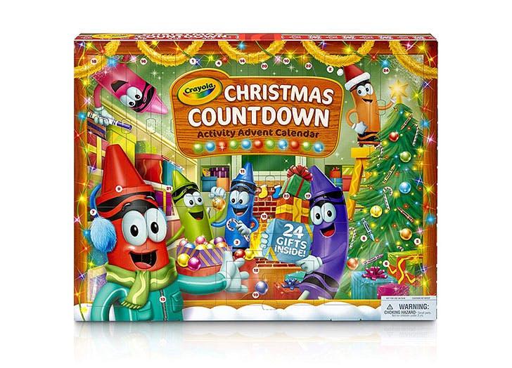 Crayola Christmas Countdown Calendar for kids