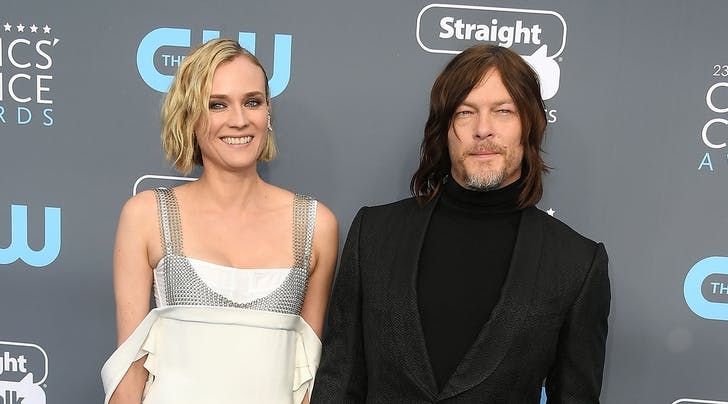 Diane Kruger & Norman Reedus Reportedly Welcomed Their First Child