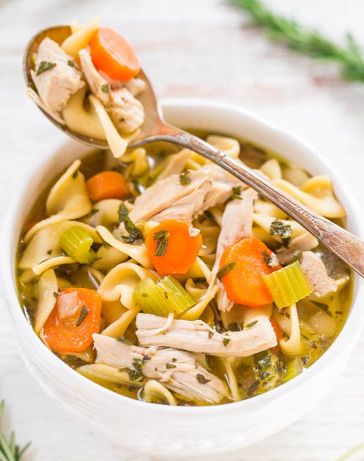 Easy 30 Minute Turkey Noodle Soup recipe