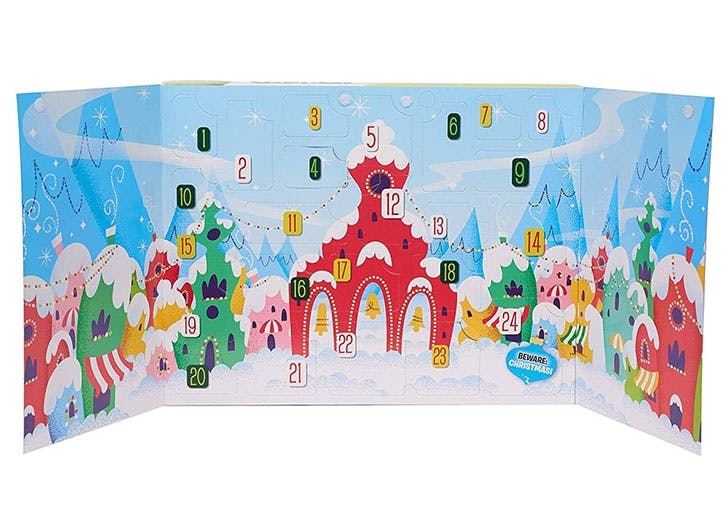 Grinch Advent Calendar for kids