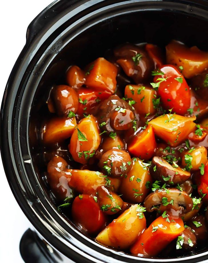 Instant Pot Portobello Pot Roast recipe