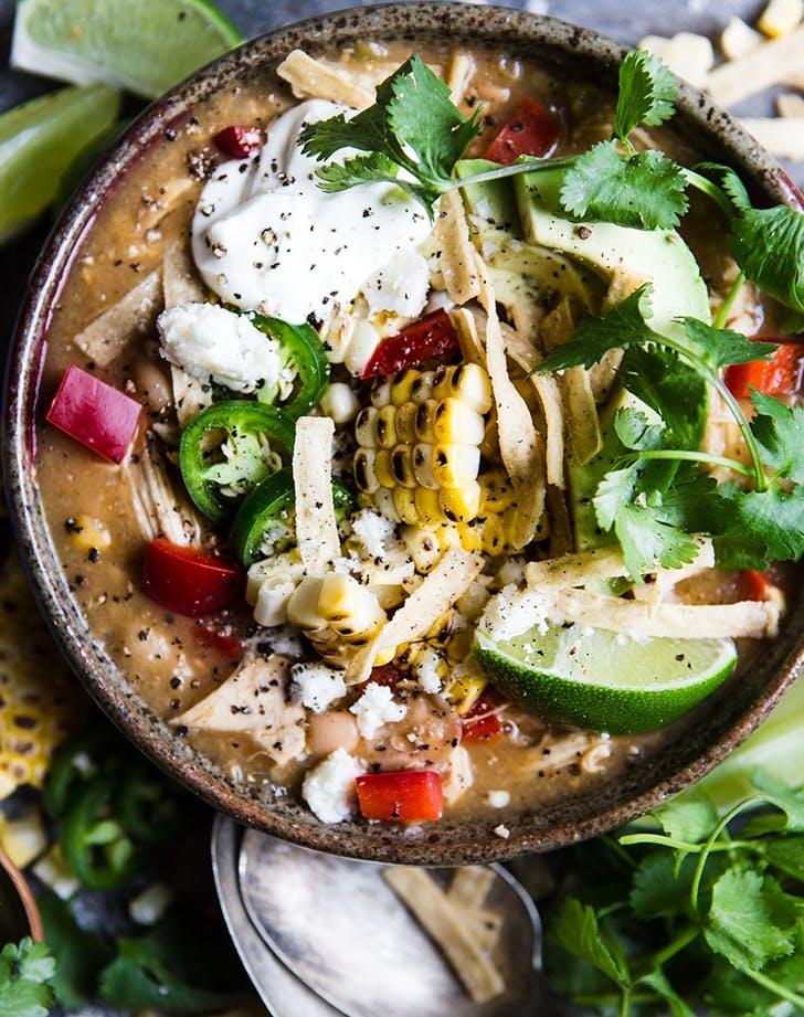 Instant Pot White Bean Chicken Chili  recipe