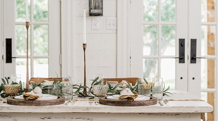Joanna Gaines Shares Her Foolproof Formula for the Perfect Holiday Tablescape